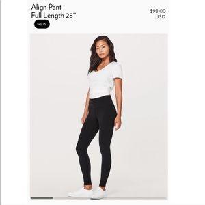 Lululemon Align 7/8 Pants